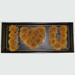 Golden Heart In Box